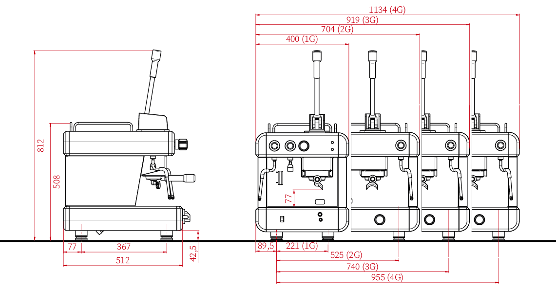 CC100 PM Technical Drawing
